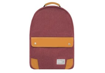 Venque Classic Backpack (Wine Red)