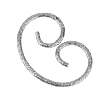 Vintage Steel Key Holder Ring Keyring Keychain Keyfob Accessories - Silver - picture 2