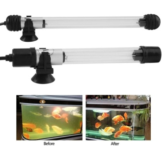 Waterproof Aquarium Fish Tank Submersible Light Pond Pool UVSterilizer Lamp US Plug 11W - intl - 2
