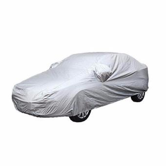 Waterproof Lightweight Nylon Car Cover for SUVs (Grey)