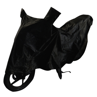 Waterproof Motorcycle Cover (L-Black)