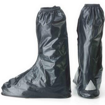 Waterproof Reuseable Motorcycle Rain Boots (Medium)