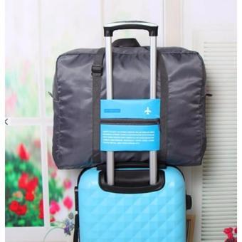 Waterproof Travel Portable Large-capacity Hand Luggage Storage BagAirplane Bag Travel Kits Handbag(Blue) - 2