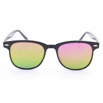 Wayfarer OverSized Flash Lenses Multicolor_721 Flash Straight Design__Unisex - 2