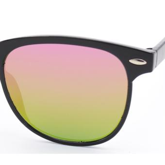 Wayfarer OverSized Flash Lenses Multicolor_721 Flash Straight Design__Unisex - 5