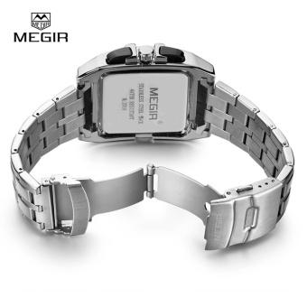 Wholesaler MEGIR MS2018G Original Luxury Men Watch Full Steel Band Date Mens Quartz Watches Business Big Dial Watch Relogio Masculino - intl - 4