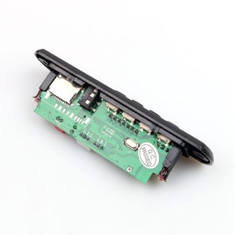 Wireless Bluetooth Speaker MP3 WMA Decoding Board Module Audio AUXCar TF Card Slot FM Radio Display with Remote Control - intl - 2
