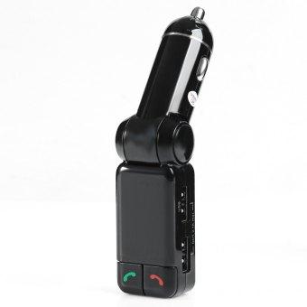 Wireless Bluetooth V2.0 Stereo Car Kit FM Transmitter MP3 USB DiskPlayer - 2