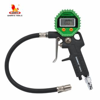Wynn's W4618 Digital Tire Gauge Inflator Gun (Green)