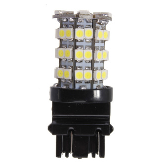 Xenon White 3157 60-SMD LED Tail Brake Stop Light bulbs - picture 1