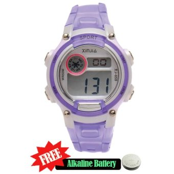 Xinjia Kid's Digital Waterproof Sports Watch XJ-859 free Alkaline Battery