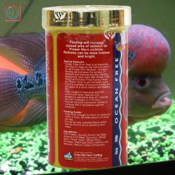 XO Ever Red Fish Pellet Aquarium Fish Food 280ml/100g (FF477ML) - 2