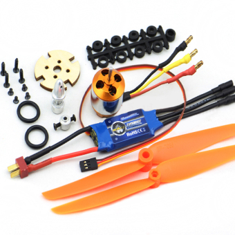 XXD 2212 Motor+ZTW Beatles AL30A Brushless ESC+Propellers Set KV2200 - intl