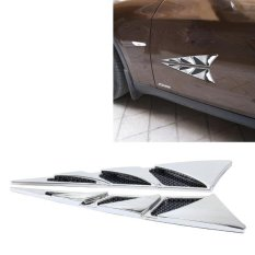 1 pair car decorative stickers air scoop flow intake hood vent shop turbo sticker on wanelo source hood scoop cover source yi 226 2 pcs car side sciox Gallery