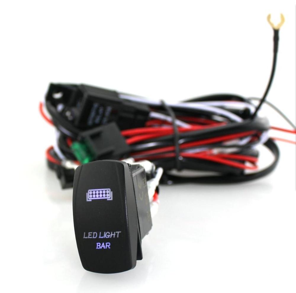 Philippines | YOSOO Auto Laser Rocker Switch Wiring Harness 40A ...