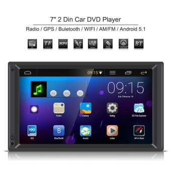 "YOSOO-U7"" 2 Din Car DVD Player With GPS Navigation MultimediaAndroid 5.1 US Price Philippines"