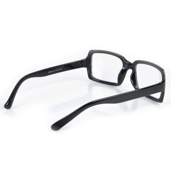 ZUNCLE Fashion Resin Lens Plastic Frame Glasses – Black