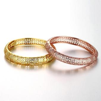 ZUNCLE Good Quality Nickle Free Antiallergic New Fashion Jewelry Rose Gold Plated Bracelets - picture 2