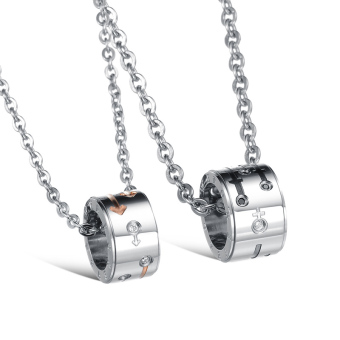 ZUNCLE Symbol classic male necklace(black)