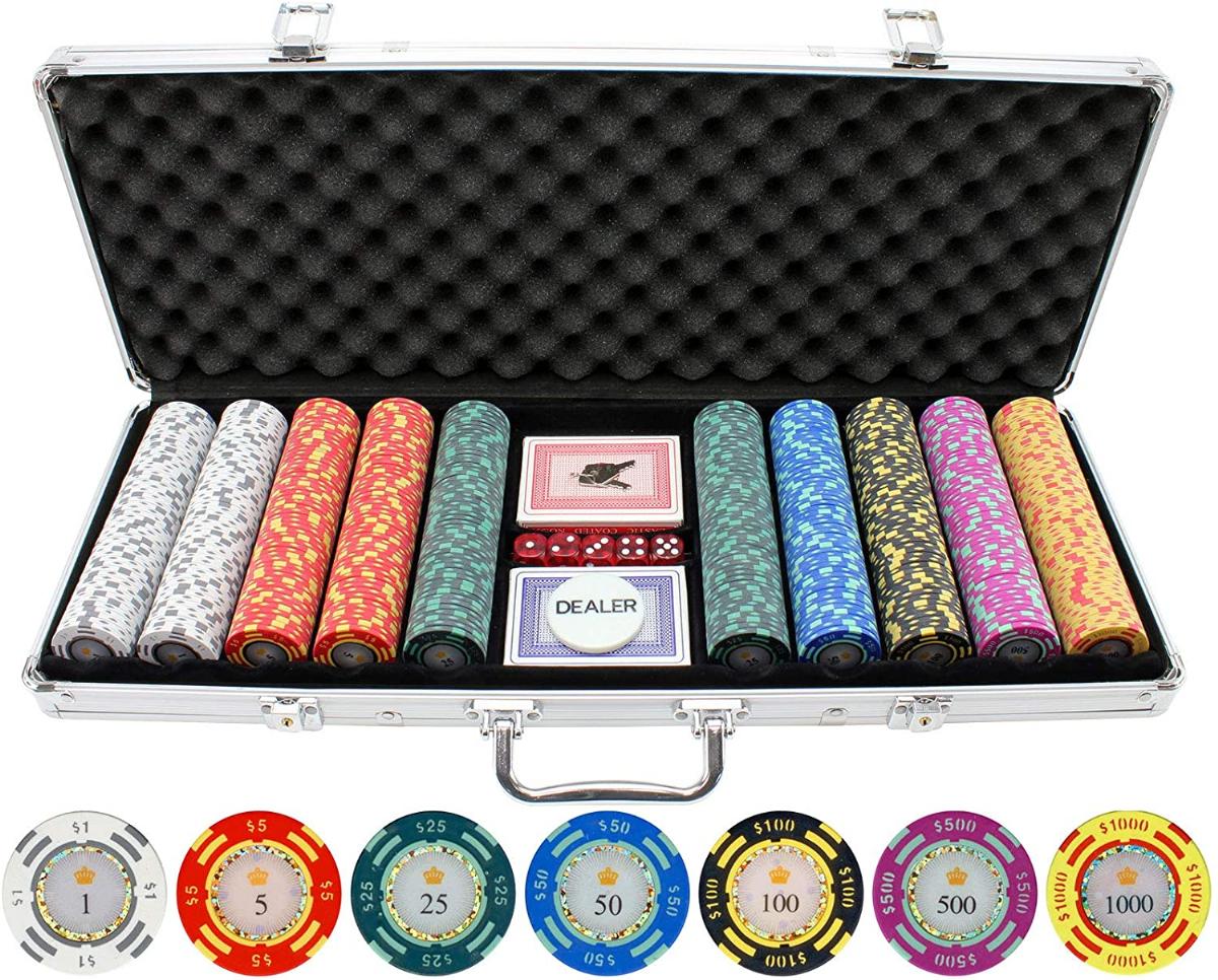 Jpc 500 Piece Crown Casino 13 5g Clay Poker Chips Lazada Ph