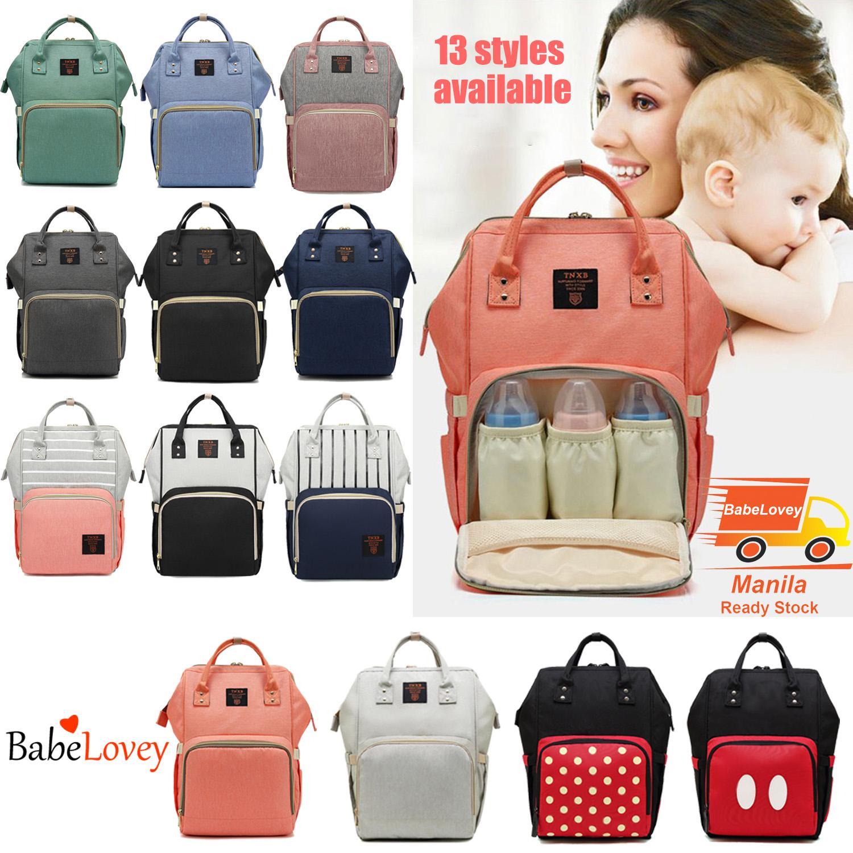 Lovey Mommy Backpack Baby Bag Maternity Ny Diaper Travel