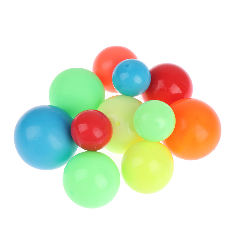 50% discount Stick Wall Ball Stress Relief Toys Sticky Squash Ball Globbles Decompression toy 1