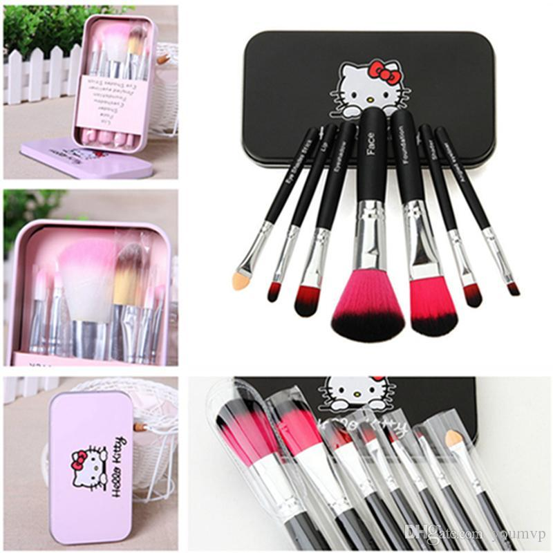 Cool Shop HK Complete Makeup Mini Brush Kit with A Storage Box - Set of 7  Pieces