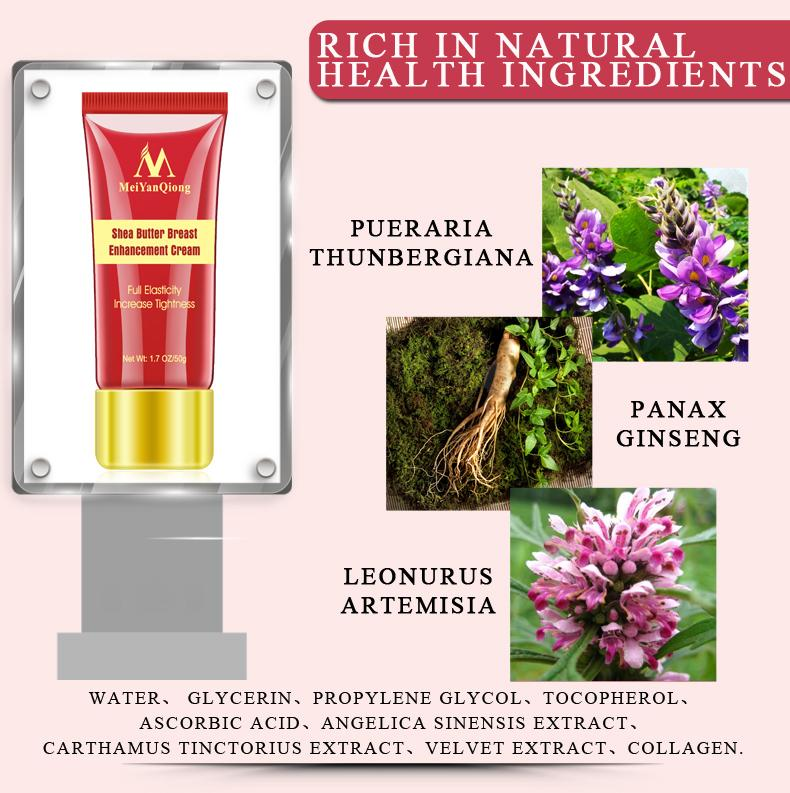 Kem nở ngực tự nhiên Bust Enhance Massage Body Treatment Cream 50g 5