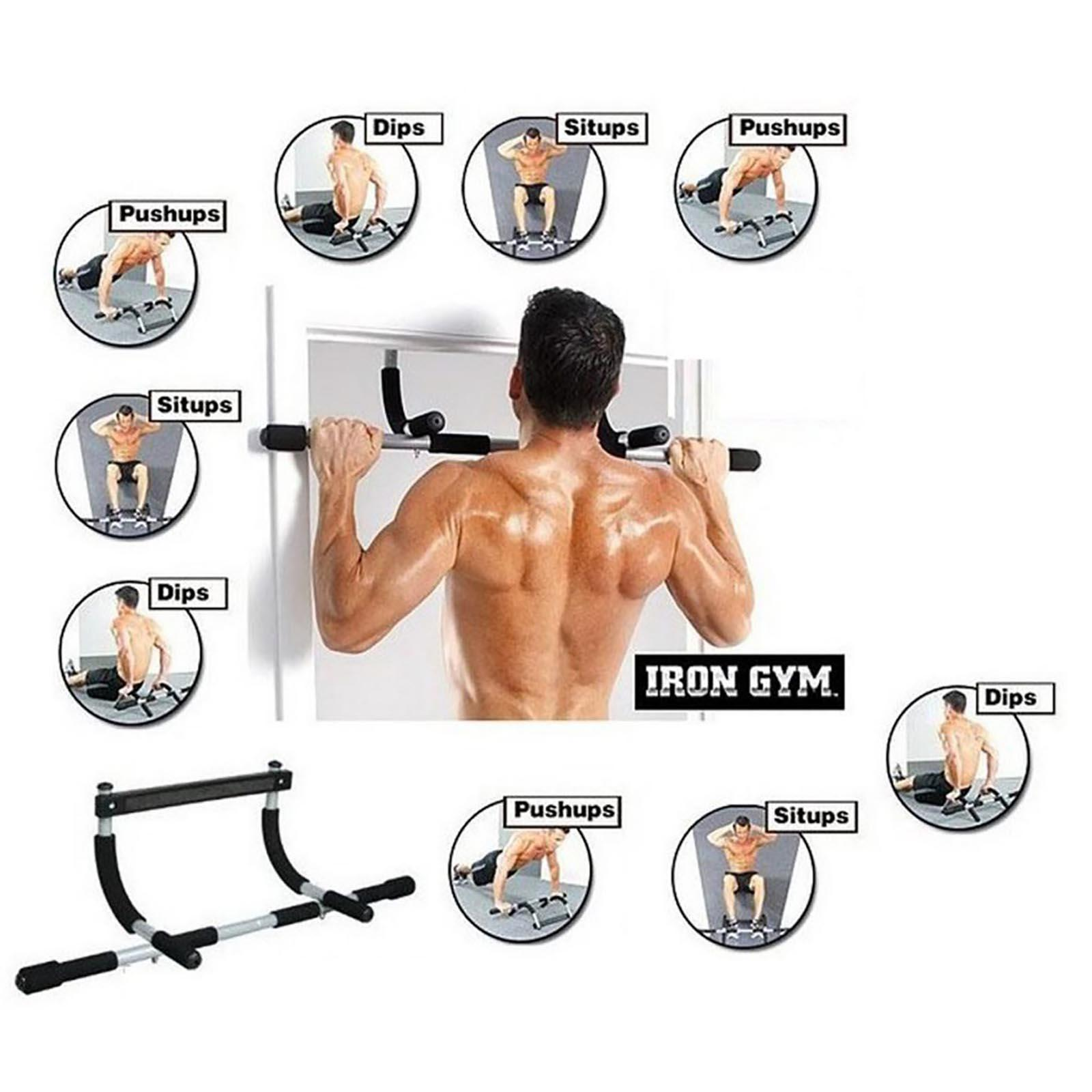 Iron Gym Total Upper Body Work Out Bar (Black)