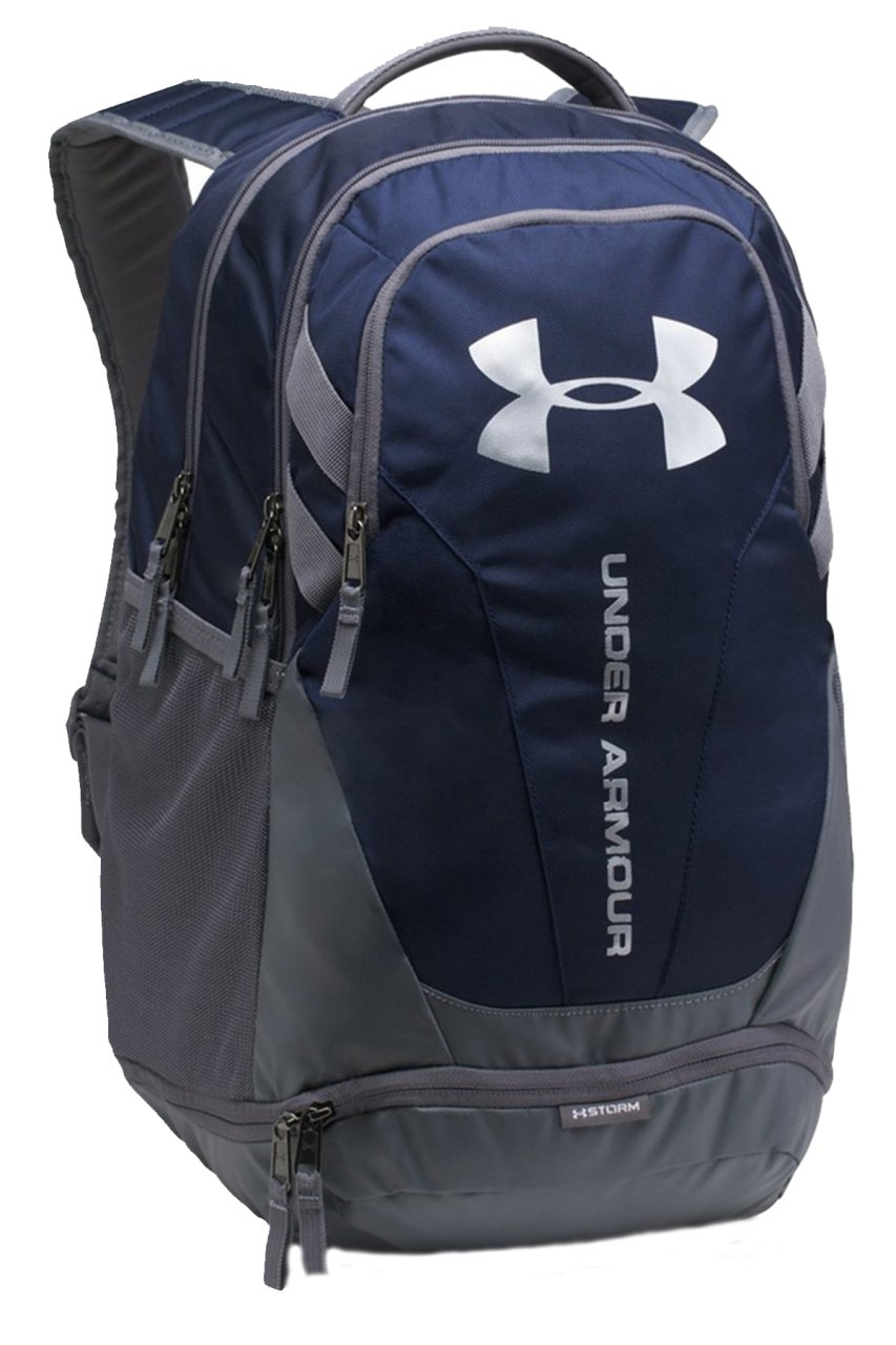 Under Armour NWT Storm Hustle 3.0 Backpack Laptop School Bag Blue Gray 1294720