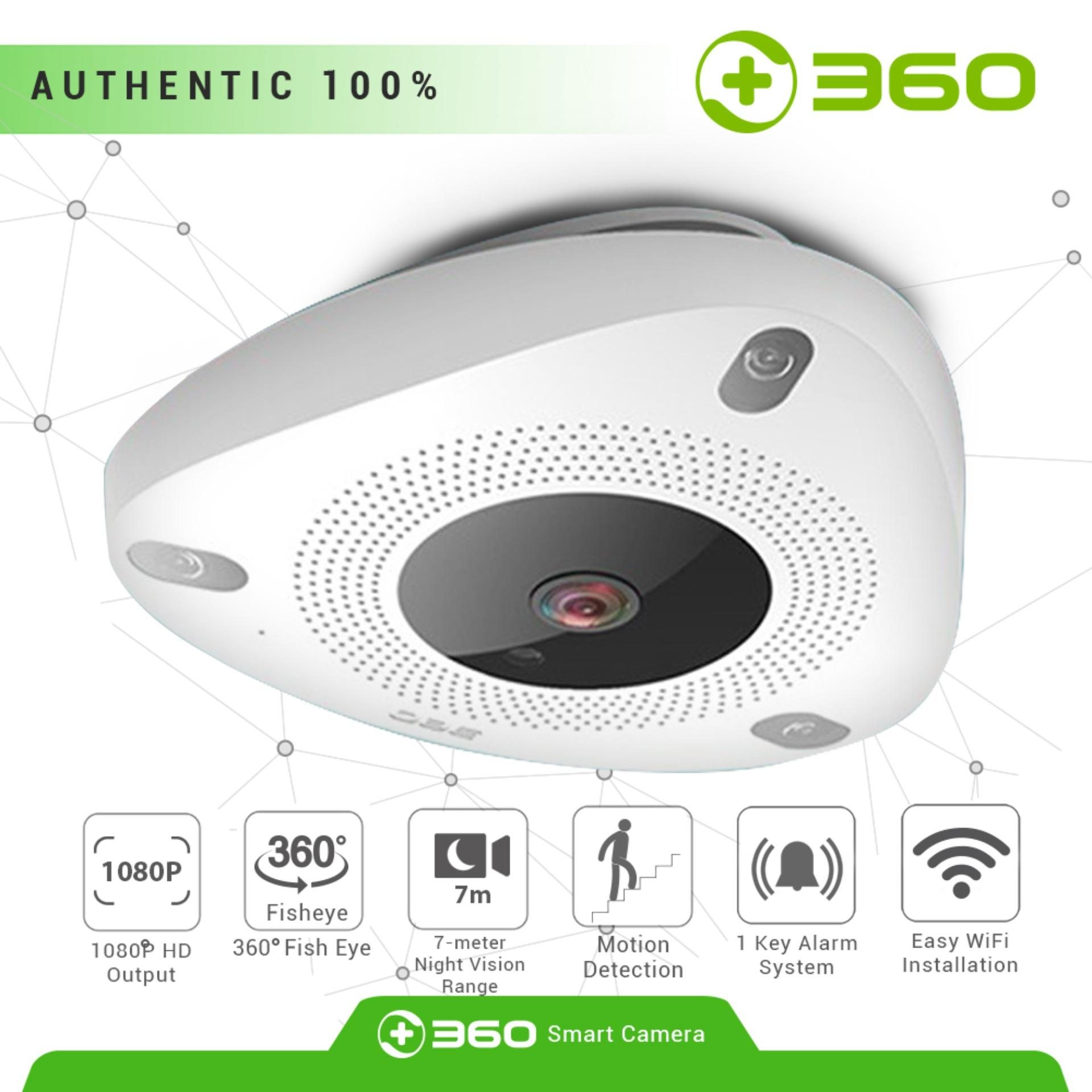 Qihoo 360 D606 Home Security Camera IP Camera 1080P Full HD Mini IP CCD  Motion Detection - 2 Way Audio Wireless WiFi Infrared Security Camera