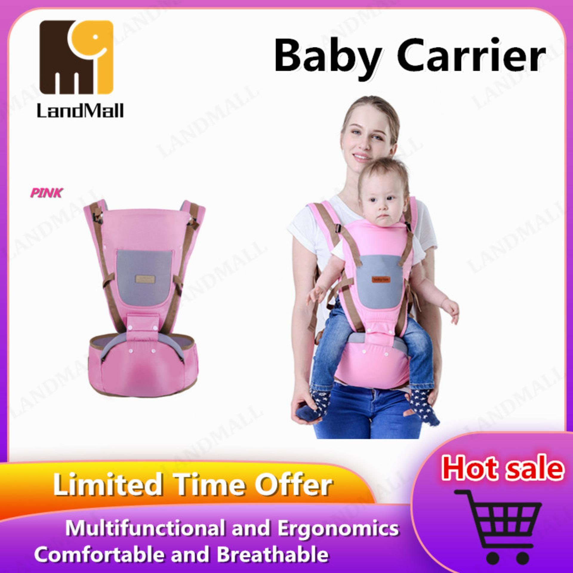 BABY LAB Multifunction Infant Baby Carrier Ergonomic Cotton Wrap Sling Backpack