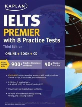 Kaplan IELTS Premier - with 8 Practice Tests - PDF Format eBook