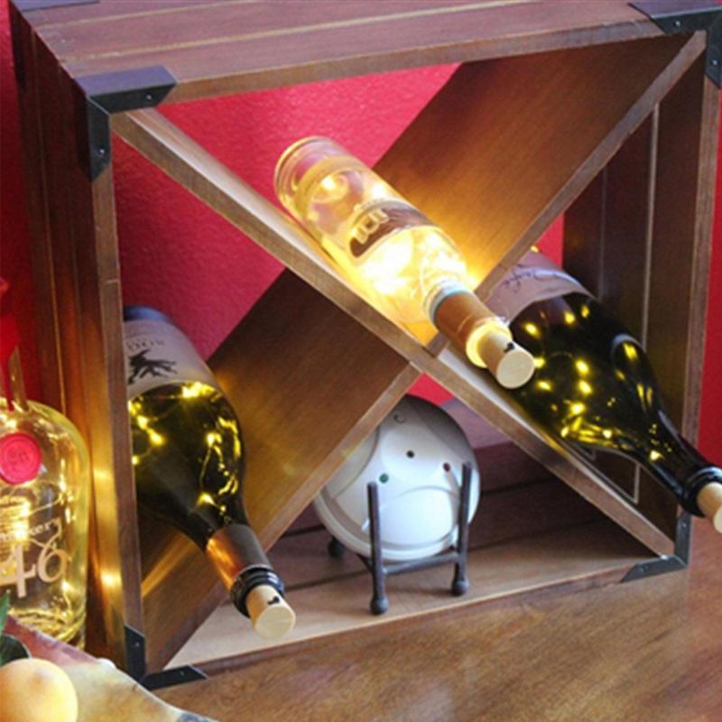 1/5/10/20 2M Copper Wire LEDs Wine Bottle Cork String Lights For Wedding  Party,Table Decorations,Bottle DIY,Christmas,Dancing,Halloween,Festival  Decor