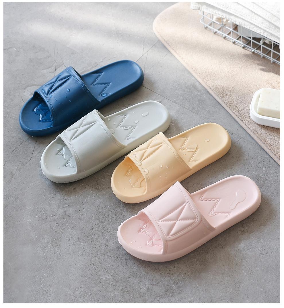 e1bb5fa5c Product details of OKSOO Comfortable, simple and non-slip soft bottom house  slippers for women sandal EVA for men