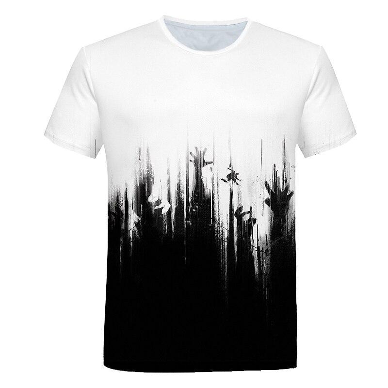 New Fashion Women//Men Slipknot 3D Print Casual T-Shirt G43