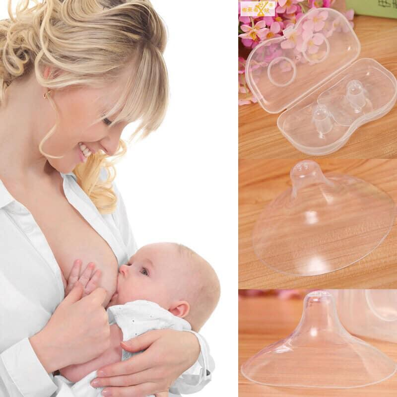 Silicone Nipple Protectors Feeding Mothers Nipple Shields Cover Breast OQF