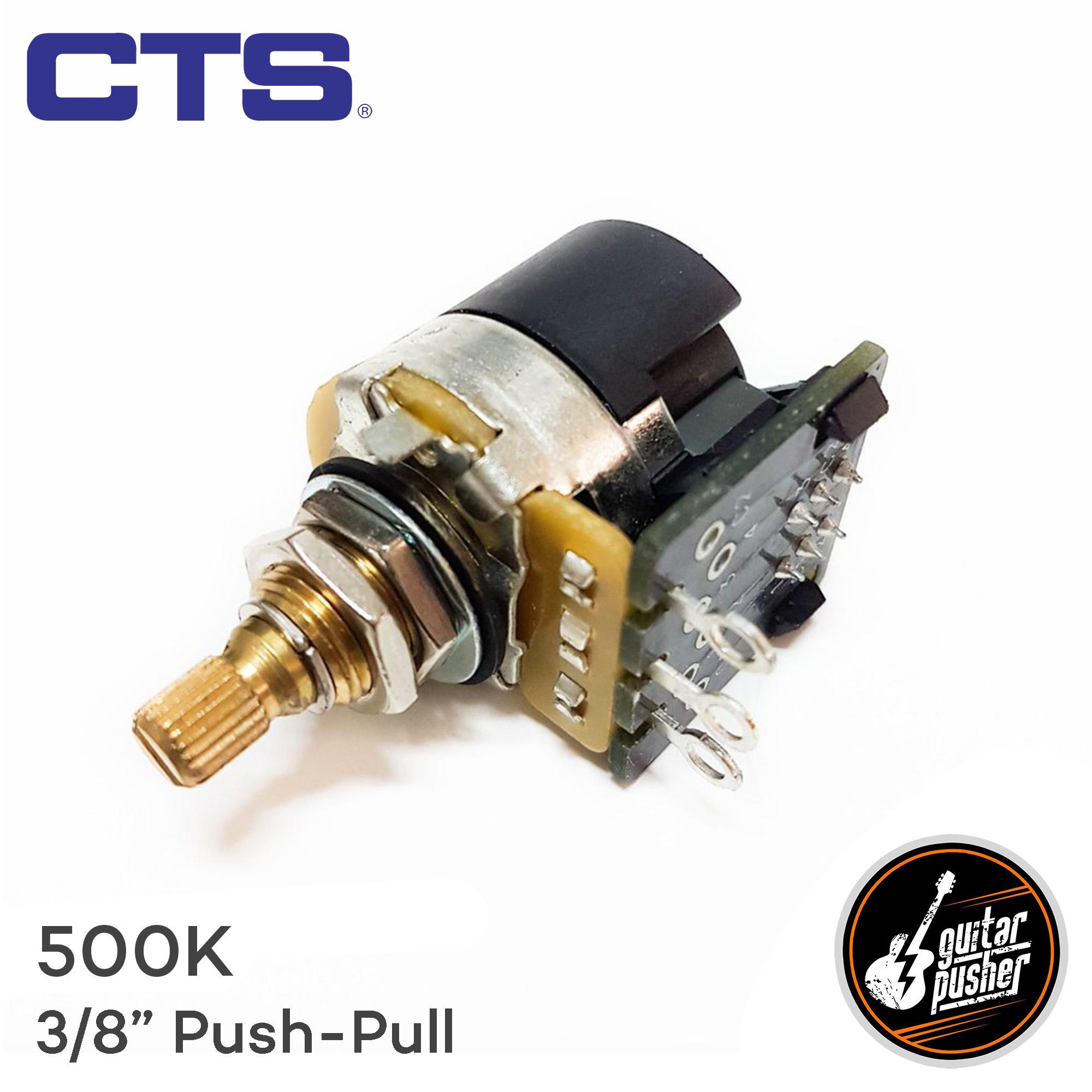 CTS Potentiometer for Strat and Tele Electric Guitar Volume and Tone 1/4 in  Shaft US Spec