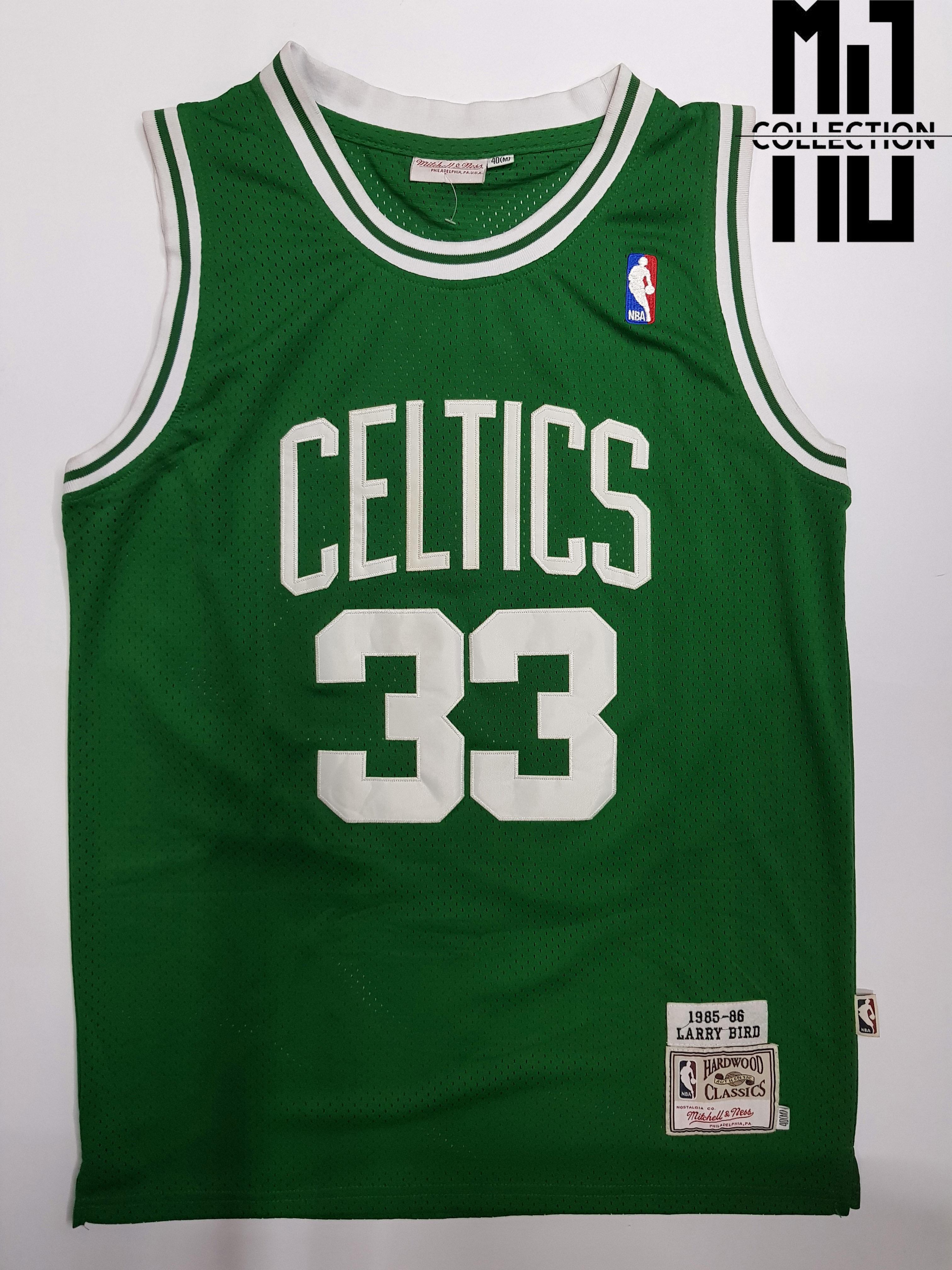 hot sale online b5735 f6b42 Larry Bird - NBA Basketball Jersey (Hardwood Classics)