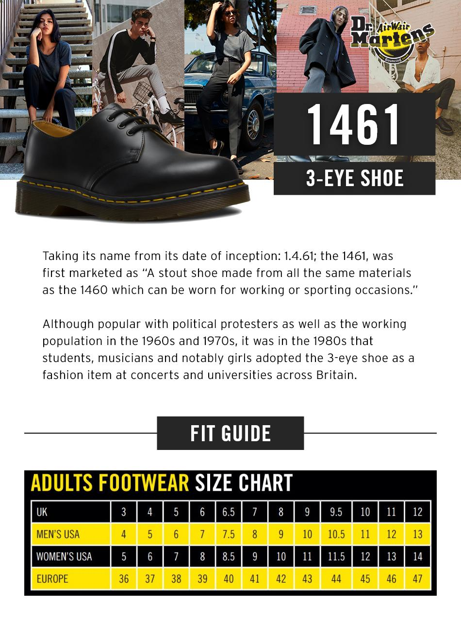 463346cea2a Dr Martens 1461 Classic 3-Eye Shoes Gaucho Crazy Horse (Brown) For Men And  Women