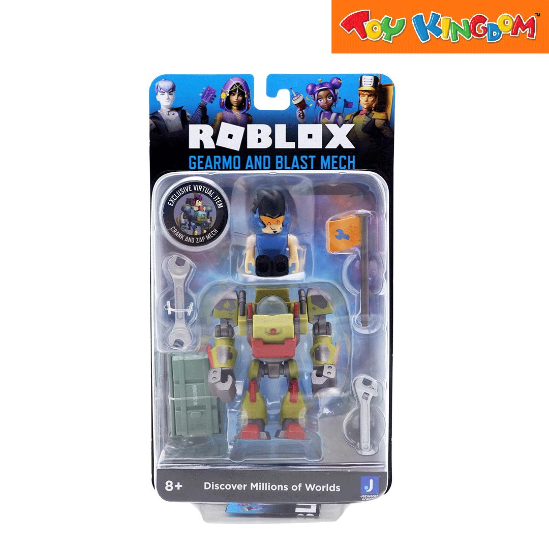 Roblox Gearmo and Blast Mech Figure Pack