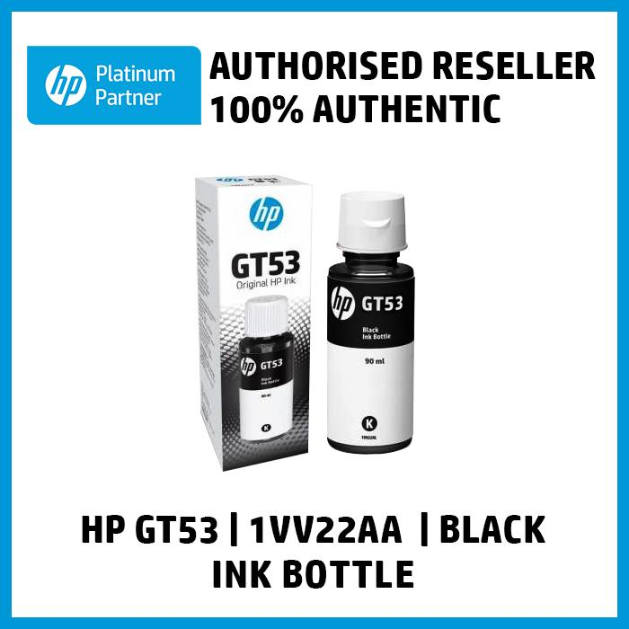 HP GT53 90ml Black Original Ink Bottle (1VV22AA, REPLACEMENT FOR ...