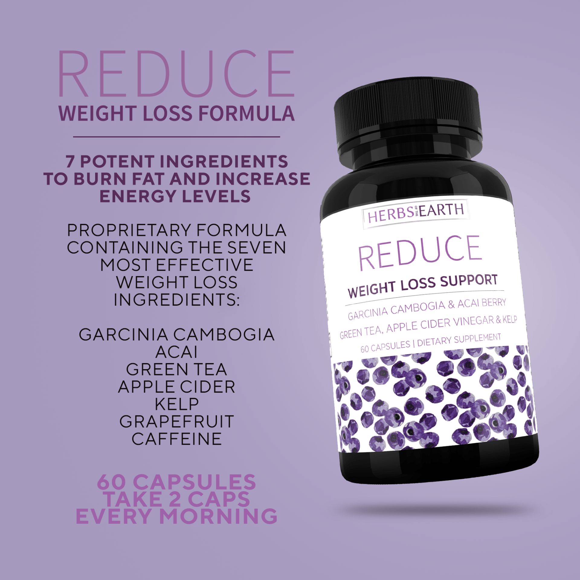 Reduce Advanced Weight Loss 7 Potent Weight Loss Ingredients