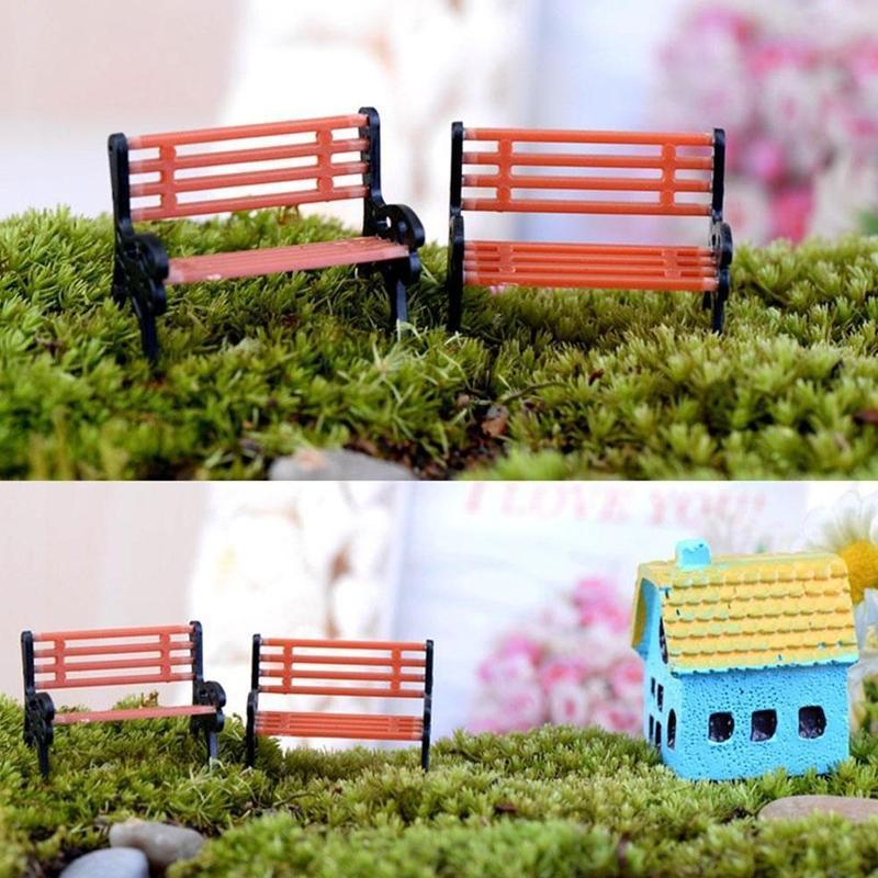 Pleasant 4 Pcs Mini Village Park Bench Furniture Shaped Miniature Garden Micro Landscape Decor Ornament Intl Download Free Architecture Designs Scobabritishbridgeorg