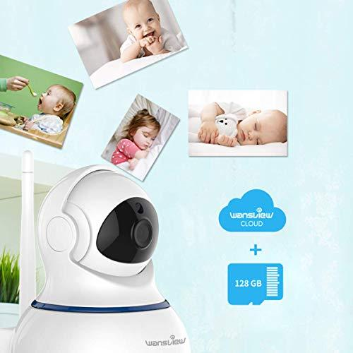 Wansview Wireless 1080P Security Camera, WiFi Home Surveillance IP Camera  for Baby/Elder/Pet/Nanny Monitor, Pan/Tilt, Two-Way Audio & Night Vision SD