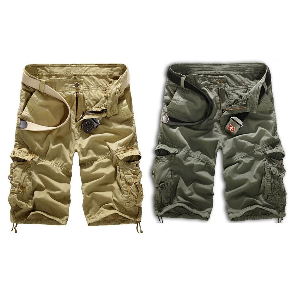 73a2e35fdc SDY NO1 MALL Men Summer Cargo Shorts Trousers Sweatpants Casual Shorts Men  Summer Pocket Shorts