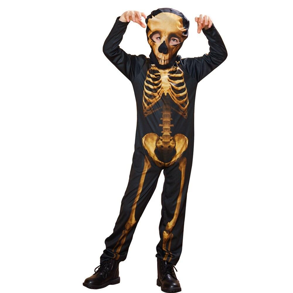 EraSpooky Men Skeleton Halloween Costume