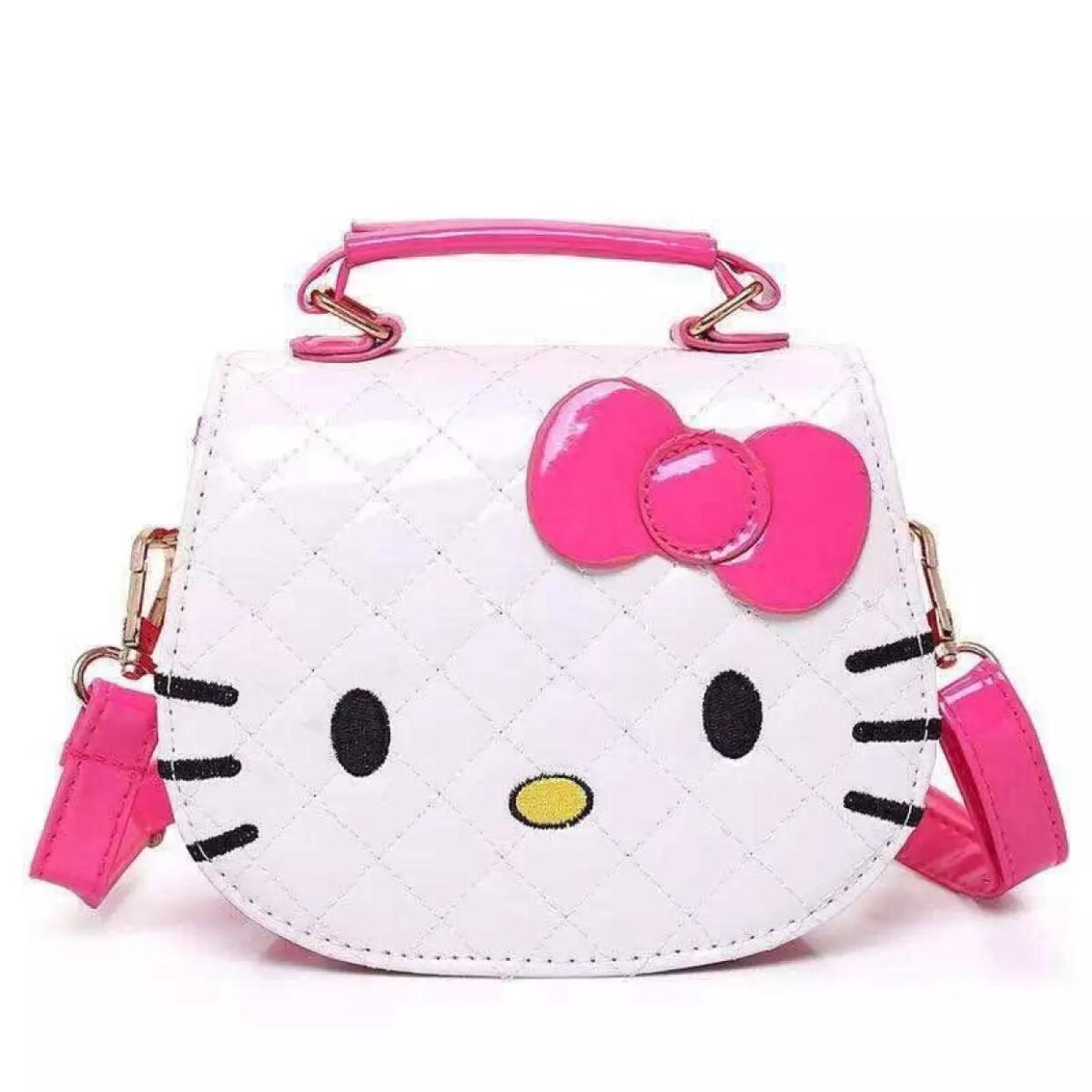 c46c7ceb7 Flagship#Hello kittysling bag Shiny Leather Kitty Shoulder Bag Sling Bag  Fashion Bag #SkyWay HelloKitty   Lazada PH