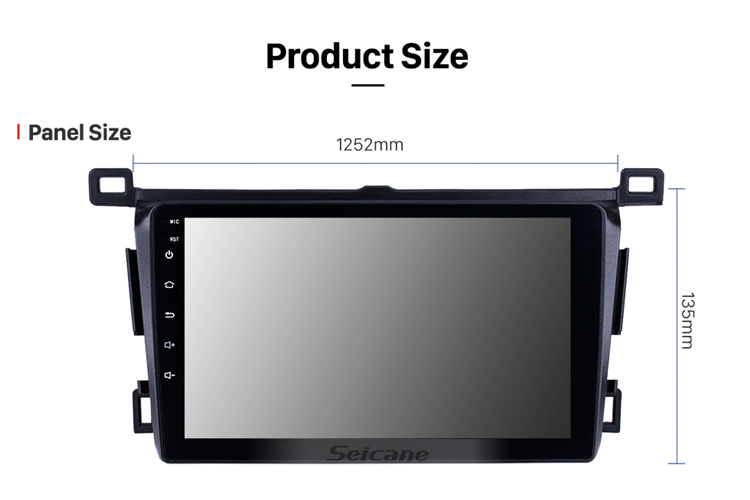9 inch Android 8.1GPS Navi Stereo for 2013-2018 Toyota RAV4 Right hand driving with WIFI USB AUX support Rearview camera OBD II