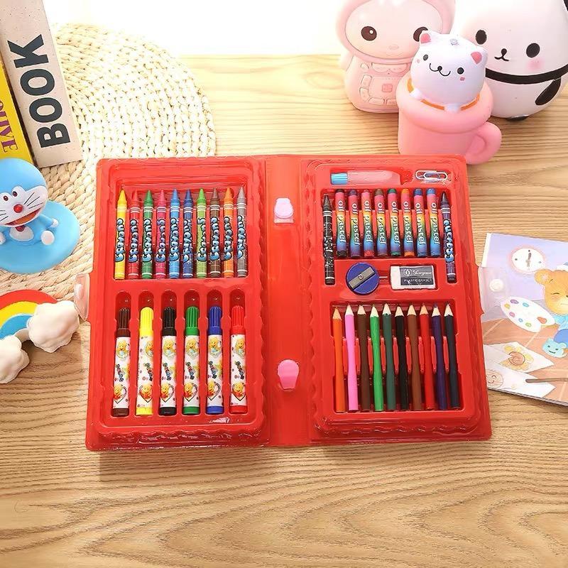 HCH Child Coloring Set Gift box Sets 42pcs.